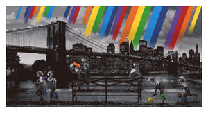"Roamcouch ""Rainbow Inc. - Brooklyn Bridge (Mono)"