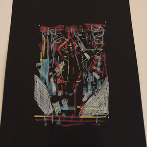 "Raid71 ""Sketch-Blade Runner #9"" Framed"
