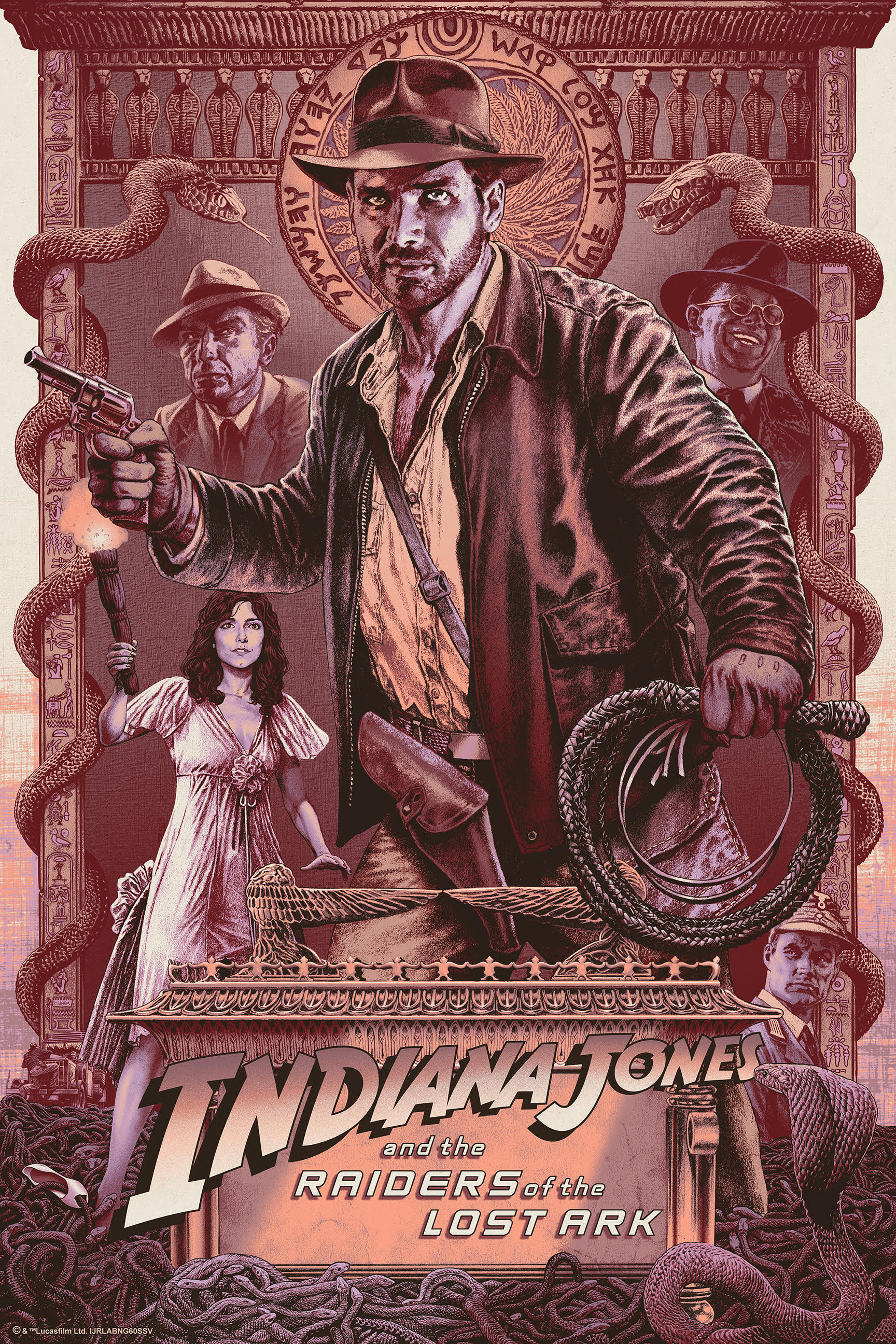 "Chris Weston ""Indiana Jones and the Raiders of the Lost Ark ..."
