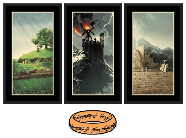 "Matt Ferguson ""The Lord of the Rings Trilogy"" Set & Charity Pin"