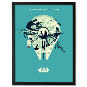 "Matt Ferguson ""The Empire Strikes Back: Galaxies Collide"" Timed Edition + FREE PIN!"