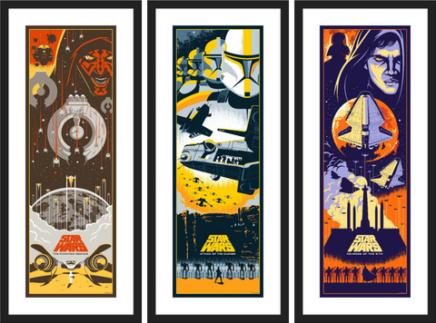 "Eric Tan ""Star Wars Prequel Trilogy"" SET"