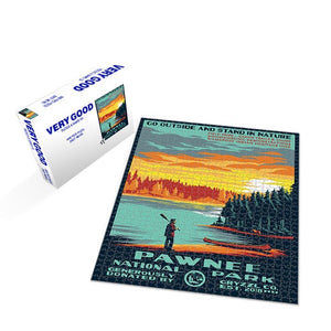 Pawnee National Park - 1000pc Puzzle + Poster