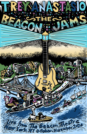 "Jim Pollock ""The Beacon Jams"" Variant Color Edition"