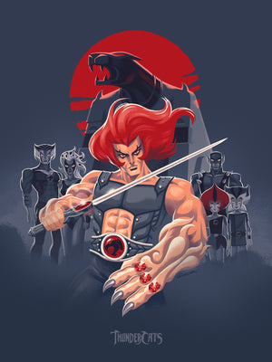 "George Caltsoudas ""ThunderCats"" Gray Edition"