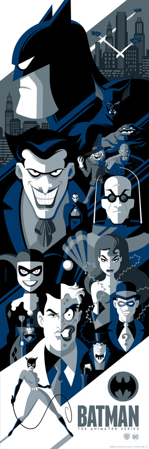 "Tom Whalen ""Batman: The Animated Series"" Variant"