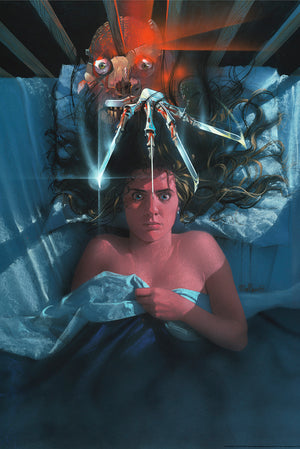 "Matthew Peak ""A Nightmare on Elm Street"" Art Print Variant"