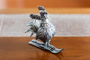 "Jim Pollock ""Year of the Rooster"" Pewter Statue"