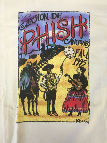 T-Shirt: Off White spanish-themed Phish Fall '95 - L