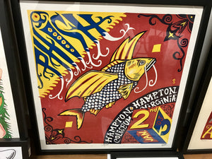 Phish 2003 Hampton Fish - numbered ed #45