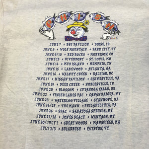T-Shirt: Ash Gray Phish Summer '95 Circus theme - L