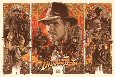 "Gabz ""Indiana Jones Trilogy"" Timed Edition"