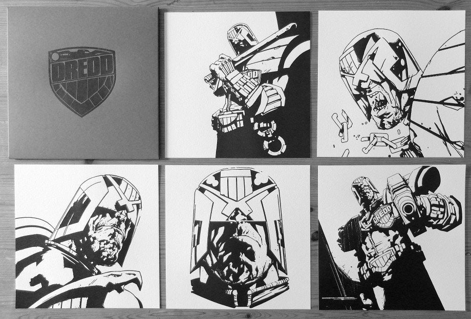"Jock ""Judge Dredd"" Letterpress Set"