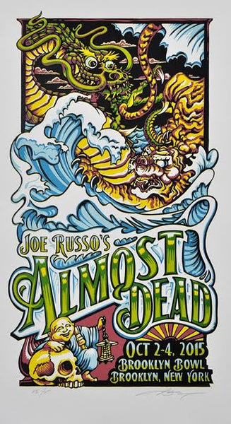 "AJ Masthay ""JRAD - Brooklyn Bowl"" Artist Edition"