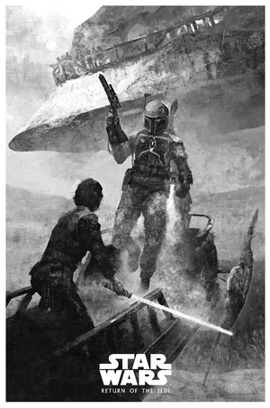 "Karl Fitzgerald ""Return of the Jedi - Skywalker Returns"" Variant"