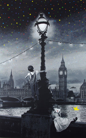 "Roamcouch ""When You Wish Upon A Star - London"" Mono"