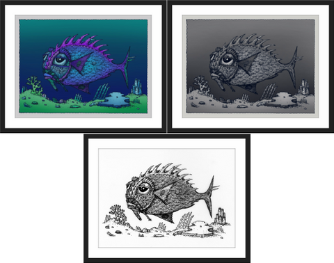 "David Welker ""Lonious Fish"" SET"