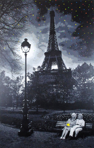 "Roamcouch ""When You Wish Upon A Star - Paris"" Mono"