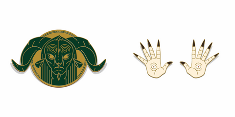 """Pan's Labyrinth"" Enamel Lapel Pin SET"