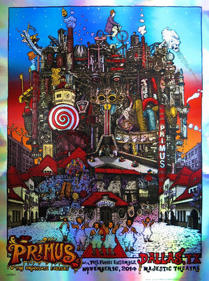 "David Welker ""Primus - Dallas"" Foil Variant"