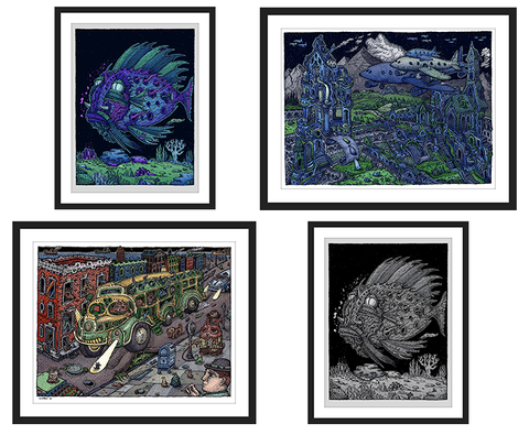 "David Welker ""Open Studio Print Set"""