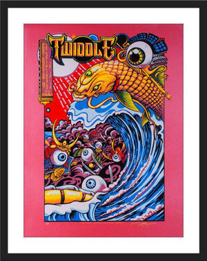 "AJ Masthay ""Twiddle - December 16th & 17th, 2016"" Jupiter Stardreams Pearl Diptych SET"