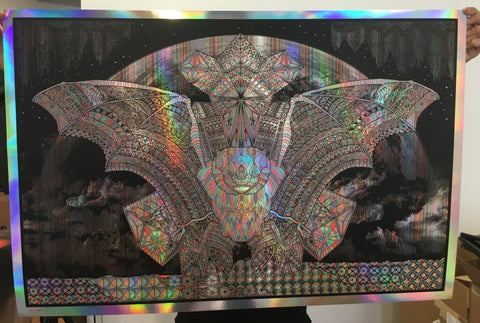 "Michael Fuchs ""Bat"" Rainbow Foil"