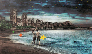 "Roamcouch ""When You Wish Upon a Star - Hawaii"" Original Canvas"