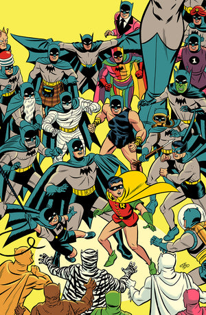 "Michael Cho ""Detective Comics Vol. 2 #1000"" Yellow Variant"
