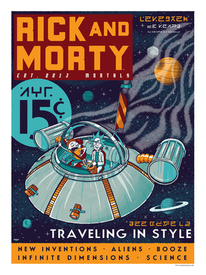 "Ian Glaubinger ""Rick & Morty: Traveling in Style"""
