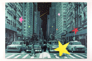 "Roamcouch ""When You Wish Upon A Star - NY"" Green"