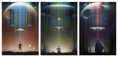 "Andy Fairhurst ""Star Wars"" Set"