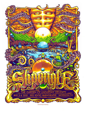 "AJ Masthay ""Shpongle - Red Rocks"" Purple Colorway AE"