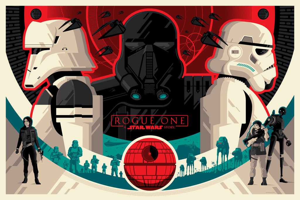 ROGUE ONE: A STAR WARS STORY by Tom Whalen On Sale Info!