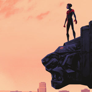 "Mark Englert ""Spider-man: Into The Spider-Verse"" SET Timed Edition"