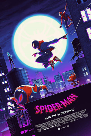 "Matt Ferguson x Florey ""Spider-Man: Into the Spider-Verse"" Timed Edition"