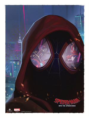 "Robin Har ""Spider-Man: Into the Spider-Verse - Dimensions"""