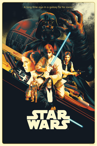 "Matt Taylor ""Star Wars: A New Hope"" Timed-Edition"