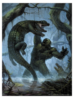"E.M. Gist ""Swamp Thing"" Art Print Edition"