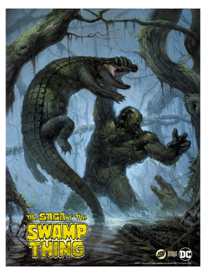 "E.M. Gist ""Swamp Thing"" Titled Edition"