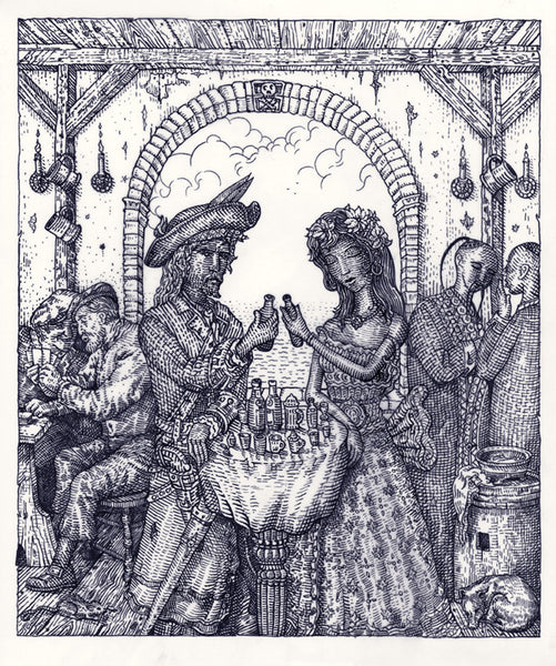 "David Welker ""Tavern of the Skull"""