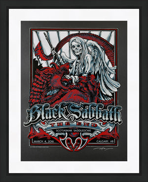 "AJ Masthay ""Black Sabbath - Calgary"" OLD"
