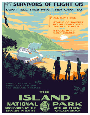 "Mark Englert ""The Island National Park"" Complete SET"