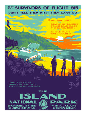 "Mark Englert ""The Island National Park"" Regular + Charity Edition SET"