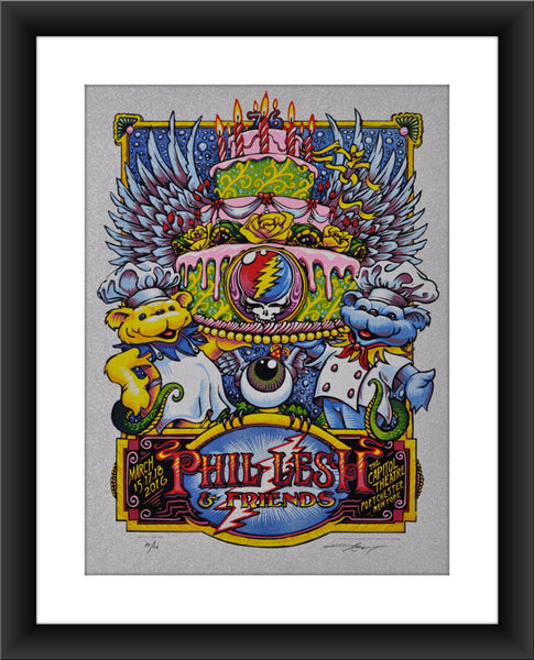 "AJ Masthay ""Phil Lesh & Friends - Capitol Theatre"" Diamond Foil"