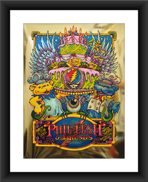 "AJ Masthay ""Phil Lesh & Friends - Capitol Theatre"" Gold Foil"