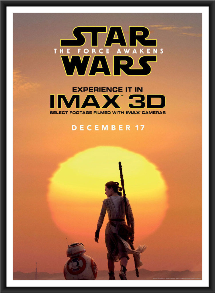 Star Wars: Official IMAX Bus Shelter Poster Raffle