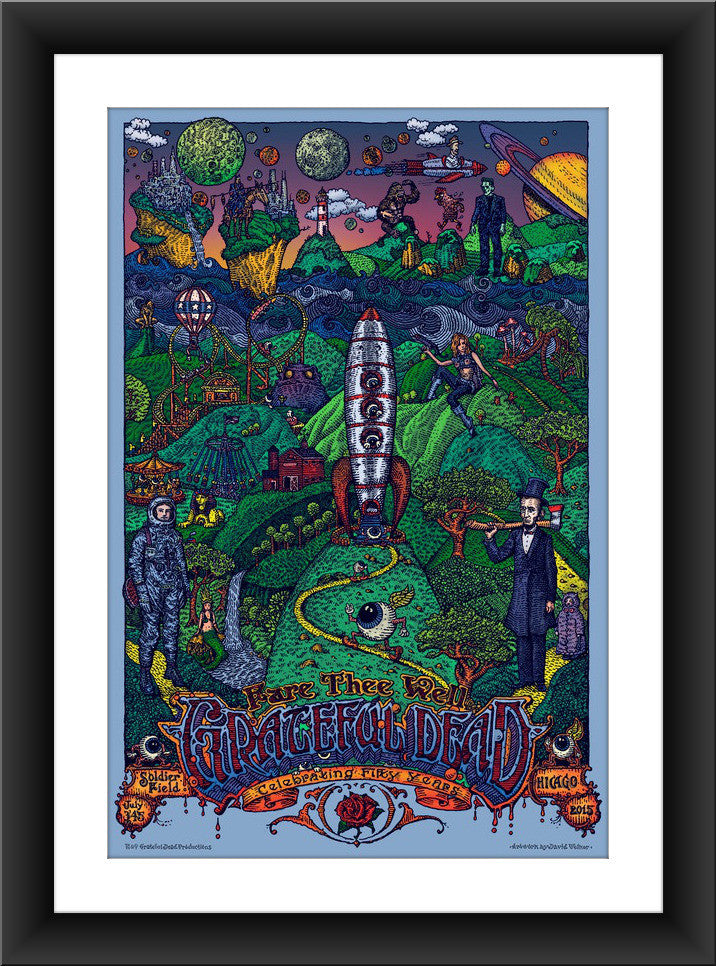 "David Welker ""The Grateful Dead"" Lottery Entry"