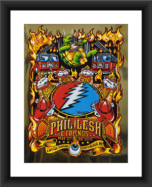 "AJ Masthay ""Help on the Way - Phil Lesh & Friends"" Gold Foil"