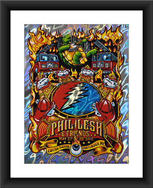 "AJ Masthay ""Help on the Way - Phil Lesh & Friends"" Lava Foil"